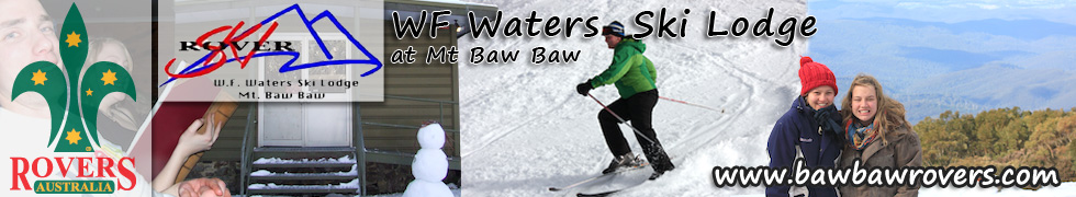W. F. Waters Ski Lodge Mt Baw Baw