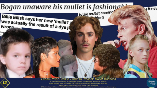 Mullet Madness - 18th Jan 2020 @ 4th Brunswick Scout Hall!