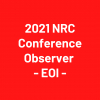 2021 NRC Conference Observers